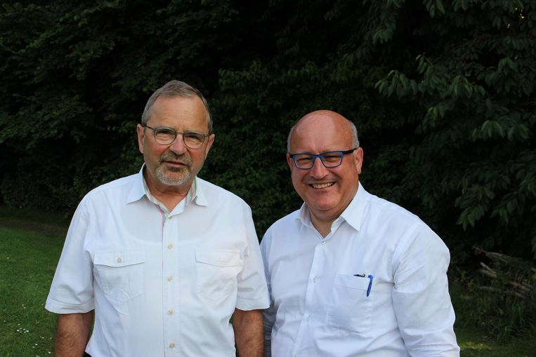 Geert Veldeman (l.) en Carl Vereecke.