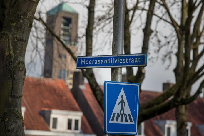 De Moerasandijviestraat in Emmeloord.