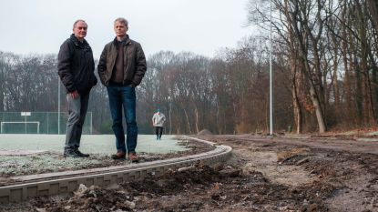 """Atletiekclub WIBO heeft binnenkort nieuwe tartanpiste: """"Atleten weigerden op onze verouderde gravelbaan te lopen"""""""