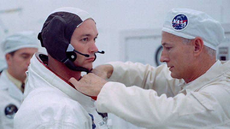 Still uit Apollo 11. Beeld