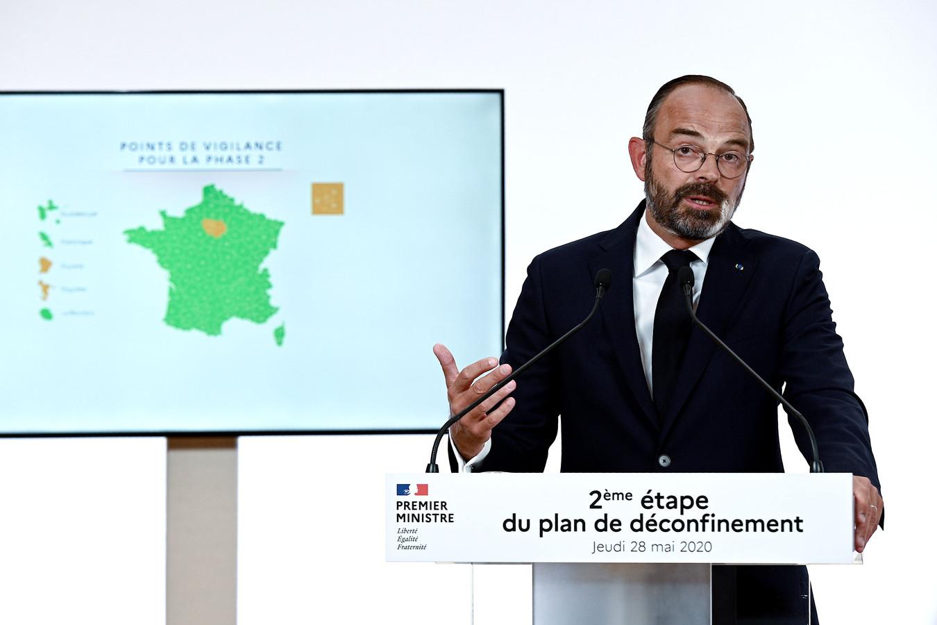De Franse premier Edouard Philippe.