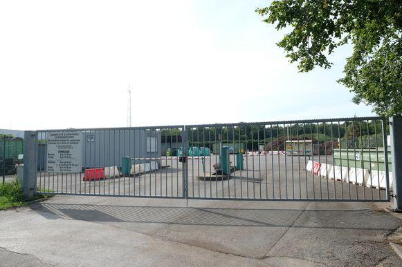 Het recyclagepark in Zandhoven