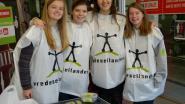 Leerlingen VIA Tienen trappen campagne Vredeseilanden op gang