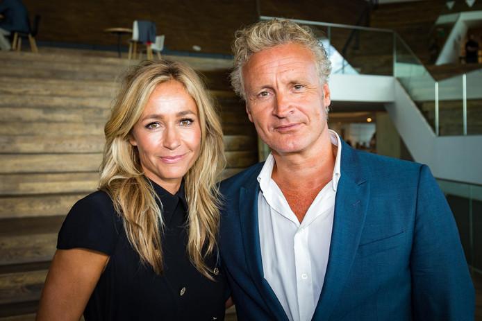 Wendy van Dijk en haar man Erland Galjaard