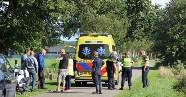 Scooterrijdster gewond bij aanrijding in buitengebied van Eibergen.