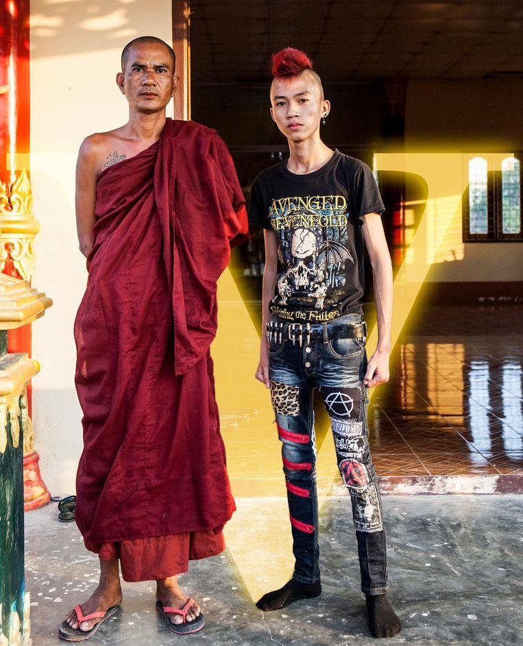 In conservatief en religieus Yangon protesteren punkers tegen de status quo. Beeld Yvonne Brandwijk