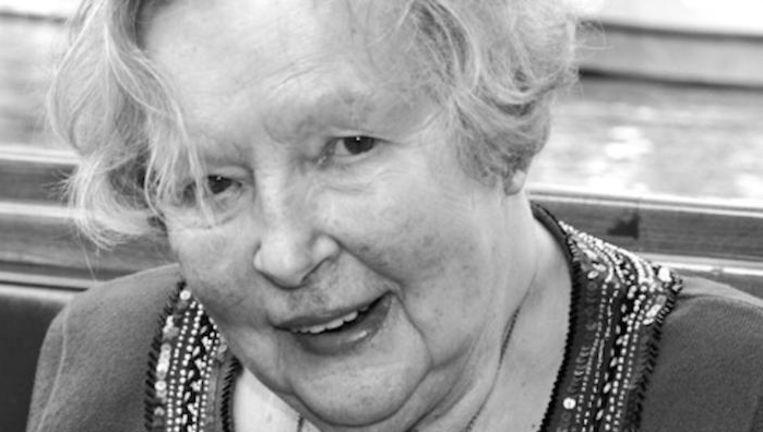 Anneke Verheul-Hemrika in 2013, geestelijk sterk tot op hoge leeftijd. Beeld webupload