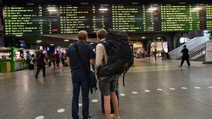 Zware hinder op het spoor door nieuwe staking: amper 1 op de 3 treinen rijdt