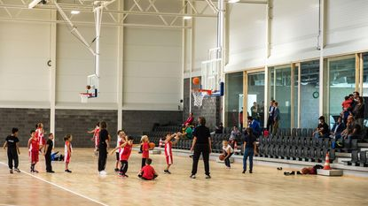 Nieuw sportcentrum Antwerp Giants in gebruik genomen
