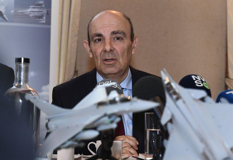 CEO Eric Trappier van Dassault Aviation.