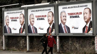 Turkse stemmen worden opnieuw geteld in 8 districten in Istanboel