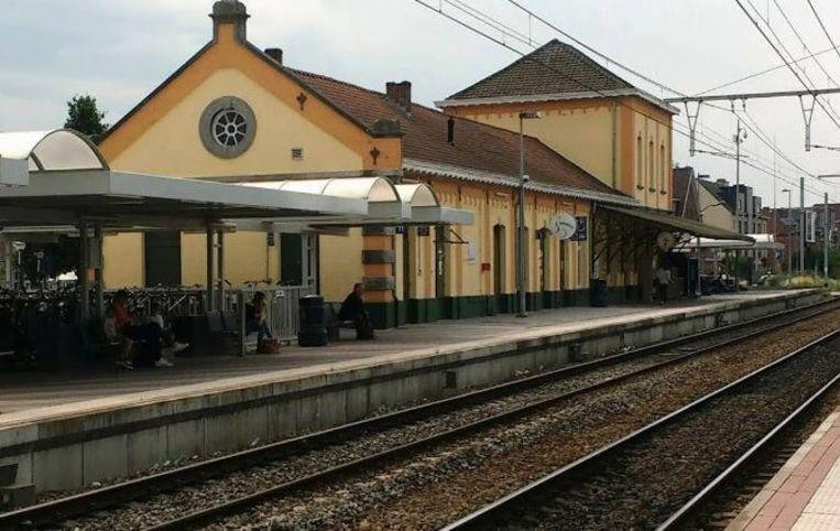 Het station van Geel.