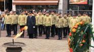 Brandweer brengt hulde aan monument op Houtbriel