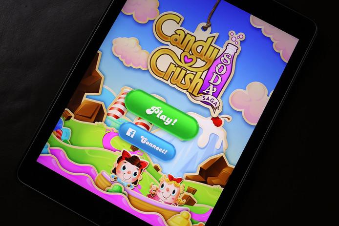 Vooral populair bij vrouwen: Candy Crush Saga