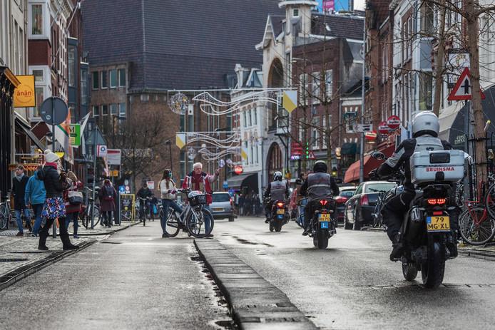 De Voorstraat waar Café Het Hart te vinden is.