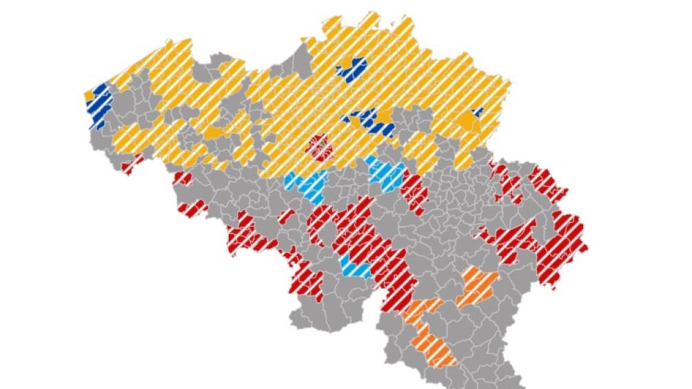 ELECTIONS: consultez la carte des résultats ici