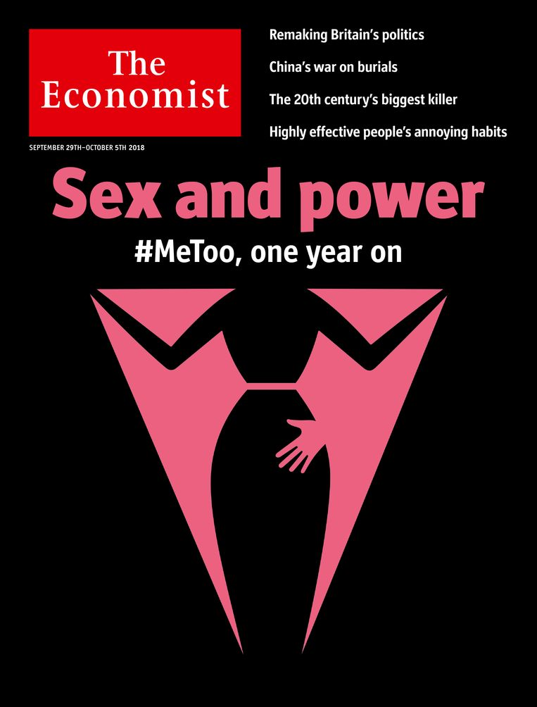 De cover van 29 september 2018. Beeld The Economist