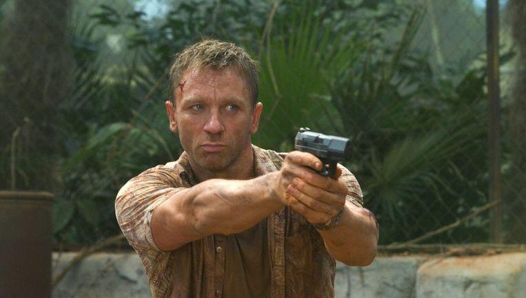 Daniel Craig als James Bond. Beeld bruno