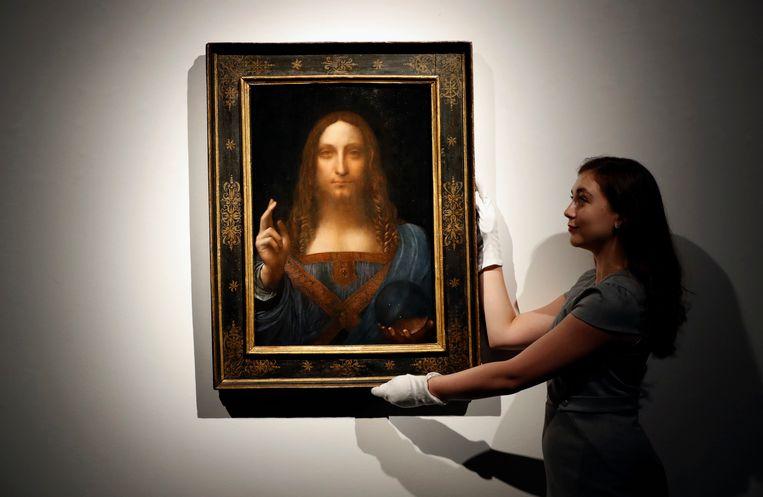 Abu Dhabi telde een duizelingwekkende 450 miljoen euro neer voor deze Salvator Mundi van Leonardo Da Vinci.