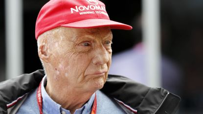 Formule 1-legende Niki Lauda ligt nog altijd met griep op intensieve zorgen