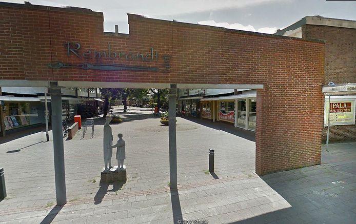 Rembrandtgalerij winkelcentrum van de Westrand Foto Google Maps