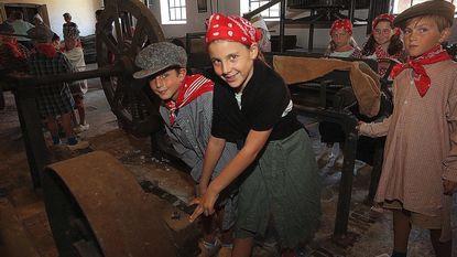 Schoolkinderen op 'tripz' in Herisemmolen
