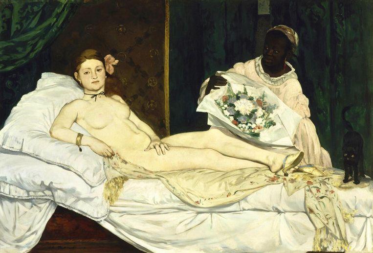 Édouard Manet, Olympia, 1863 Beeld RMN-Grand Palais (Musée d'Orsay)