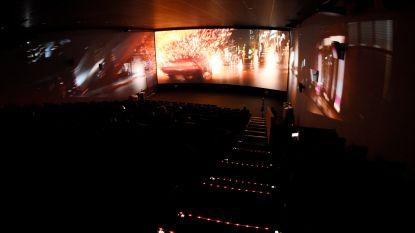 Kinepolis Antwerpen opent bioscoopzaal met filmprojectie op drie wanden