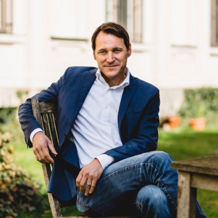 Zwitserse bestsellerauteur Rolf Dobelli. Beeld
