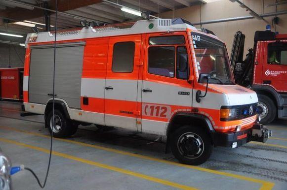 Ook deze autopomp doet Brandweer Westhoek van de hand. Openingsbod 500 euro.