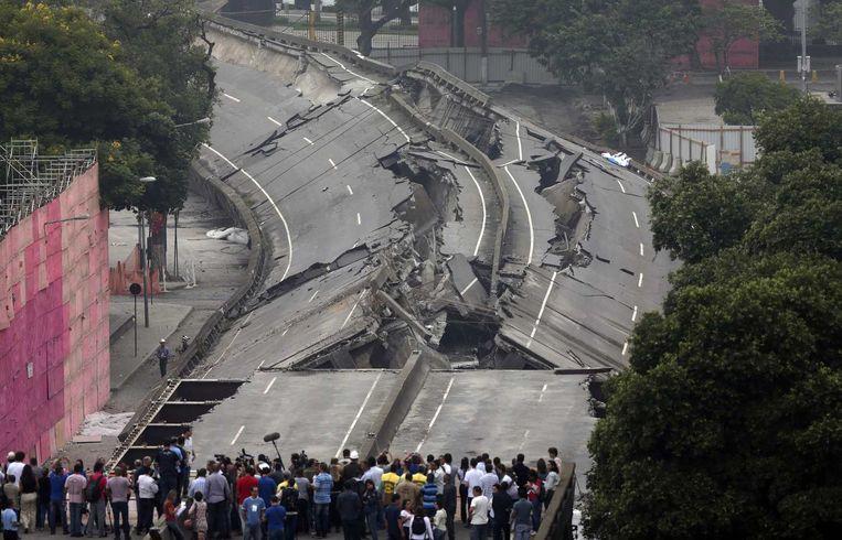 In Rio werden ook al grote delen van de openbare infrastructuur afgebroken om plaats te maken voor nieuwe projecten.
