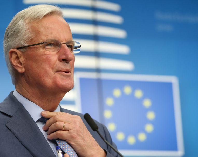 De Europese brexitonderhandelaar Michel Barnier.