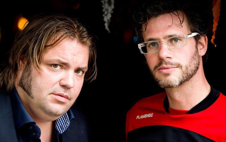 Erik Dijkstra (R) en Frank Evenblij. Beeld anp