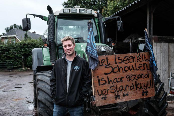 Thijs Wieggers (39) is melkveehouder in Mariënvelde en groepsleider van Farmers Defence Force Oost-Achterhoek.