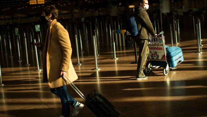 Eerste dag met verbod op niet-essentiële reizen: minder dan 2.000 passagiers op Brussels Airport