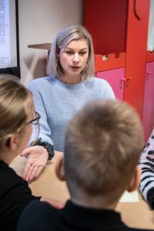 Top tien-juf ondanks gekkenhuis gewoon voor de klas in Helmond