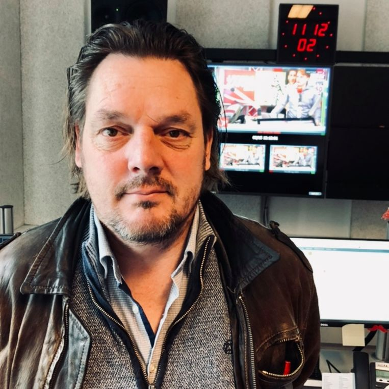 Verslaggever Patrick van Heezik. Beeld null