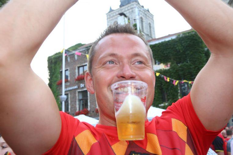 Dankzij het WK wordt er voor de helft meer bier verkocht.