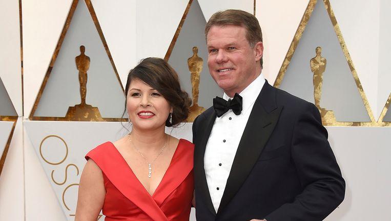Martha Ruiz en Brian Cullinan, de blunderende Oscar-accountants Beeld ap