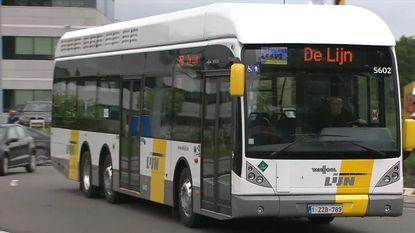 Eerste hybride waterstofbus van De Lijn is een feit