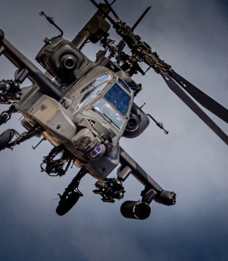 Laserpen uit Afferden verblindde piloot Apache; vader lijkt zoon (21) te willen beschermen
