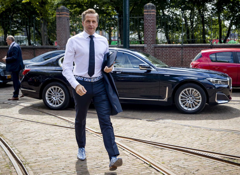 Minister Hugo de Jonge van Volksgezondheid, Welzijn en Sport won nipt de leiderschapsverkiezing van het CDA. Beeld ANP