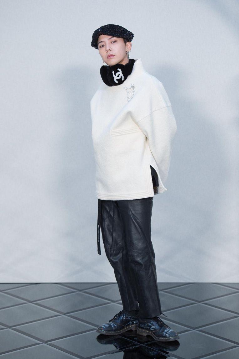G-Dragon, dinsdag in de Ziggo Dome Beeld Corbis via Getty Images