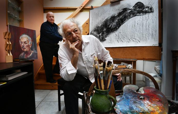 Alberto Taboada (op de voorgrond) en Ton Jansen.
