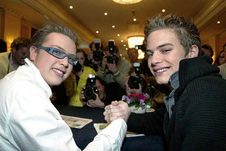Jamai en Jim in 2003. Beeld anp