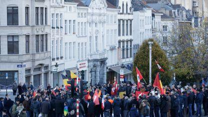 Marokkaanse beweging komt samen om afkeur te uiten tegen rellen in Brussel