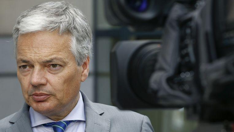 De Belgische minister van Buitenlandse Zaken Didier Reynders Beeld afp