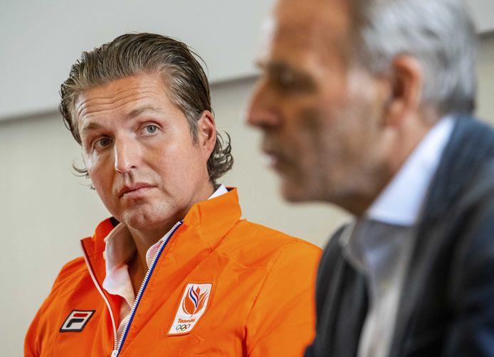 Pieter van den Hoogenband, chef de mission van TeamNL.