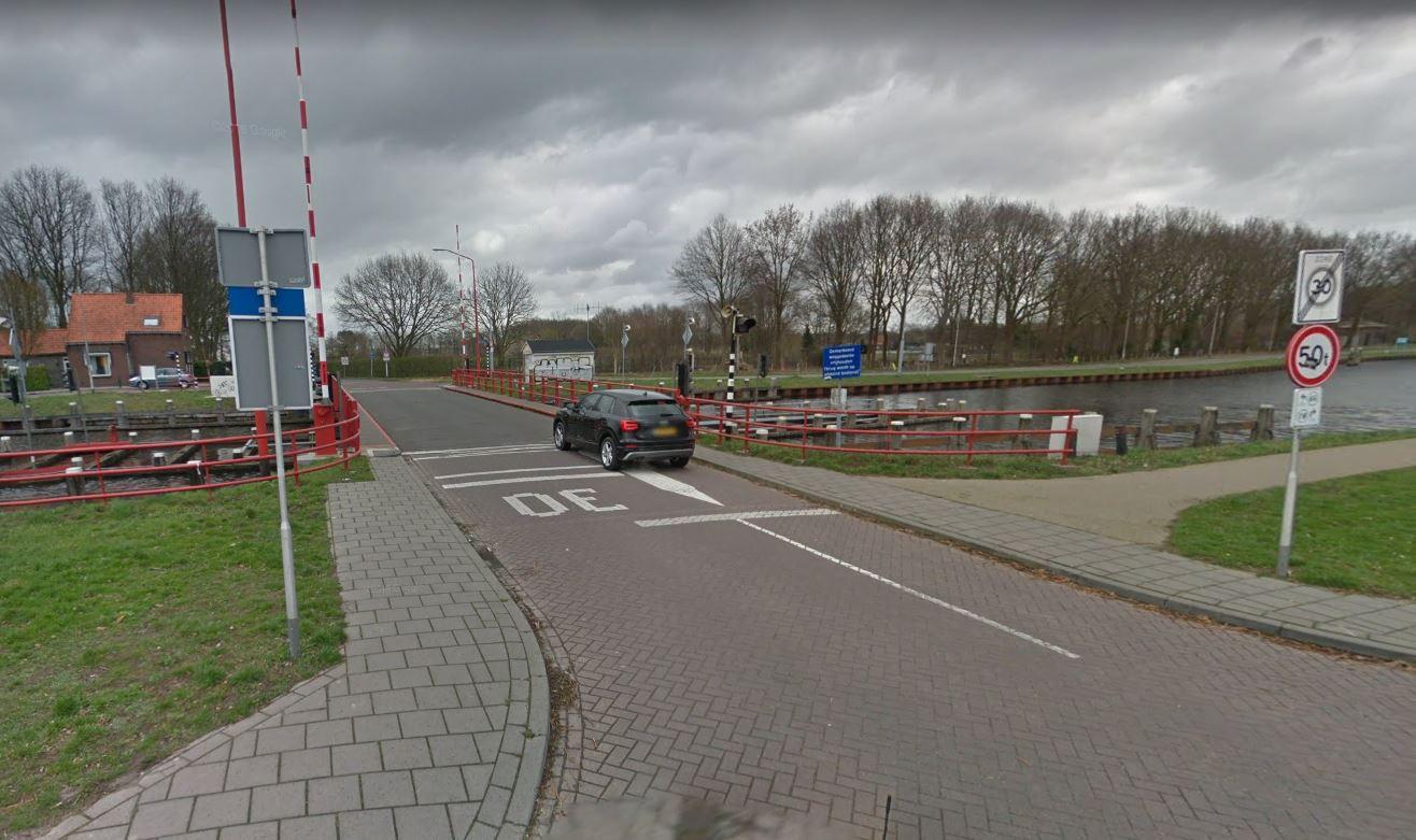 De brug aan de Oisterwijksebaan.