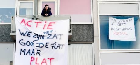 Bewoners beschadigde flat in Maarssen zijn het zat: 'Ik woon hier niet meer met plezier'